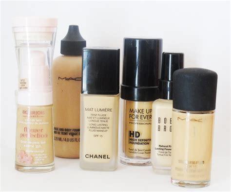 Top 5 Makeup Foundations