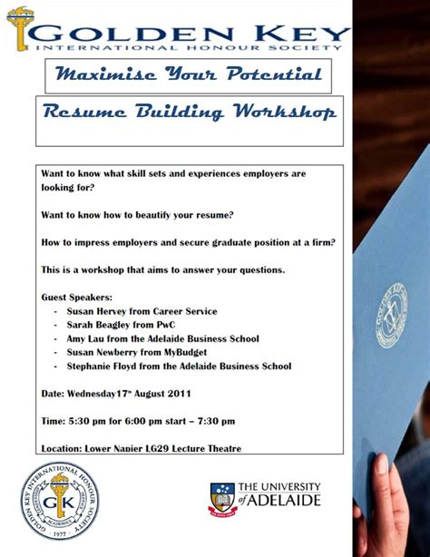 resume building workshop the professions hub