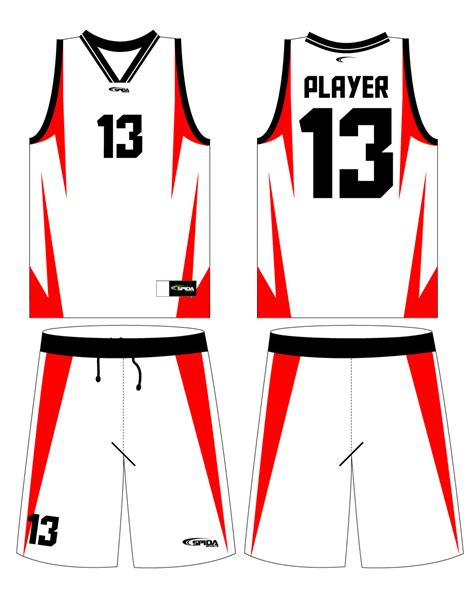 Free Blank Basketball Jersey Template, Download Free Clip