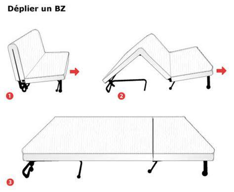 canape convertible bz