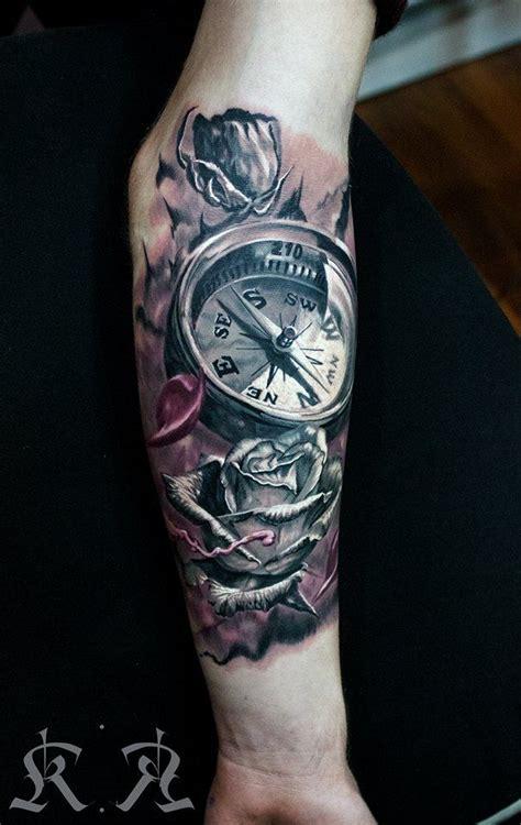 compass tattoos  men ideas  designs  guys