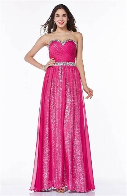 Pink Dresses Plus Prom Modern Floor Length