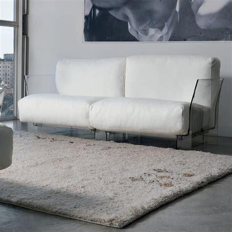 pop sofa canapé design kartell à 2 places structure en