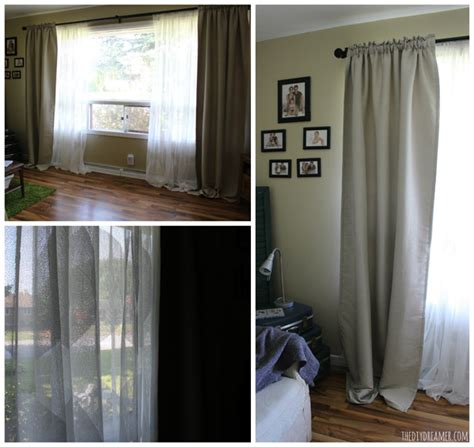 How To Make Window Curtains At Home quick amp easy living room makeover ikeamakeover