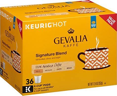 Gevalia Signature Blend K Cup Pods, 12.4 Ounce   Gourmet Coffee & Equipment