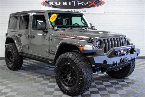 custom lifted  jeep wrangler unlimited rubicon jl