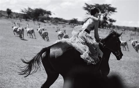 wallpaper field girl model horse boots dress black