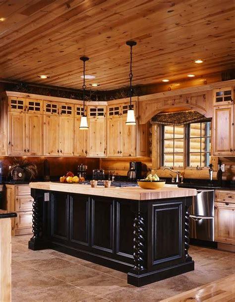 cabin kitchens ideas best 25 log cabin kitchens ideas on home