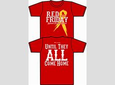 Support the Troops – RED Friday Boots On The Ground NY