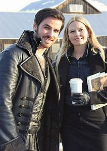 Once Upon a Time - Jennifer Morrison (Emma Swan) and Colin ...
