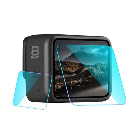 transparent camera lens lcd display tempered glass