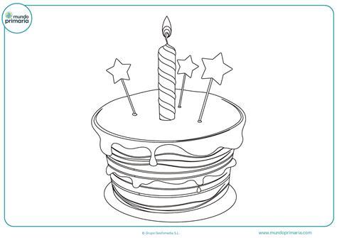 Dibujos de Cumpleaños para Colorear (Imprime tu Tarta)