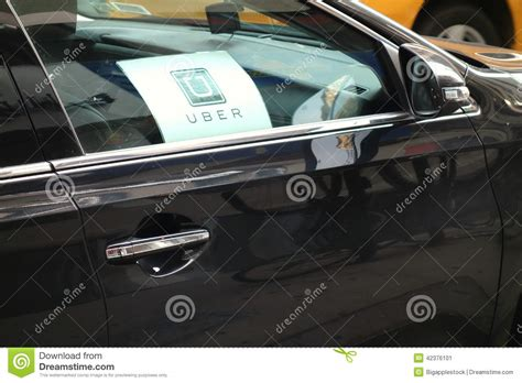 Uber Car Editorial Photo. Image Of Ridesharing, Uber