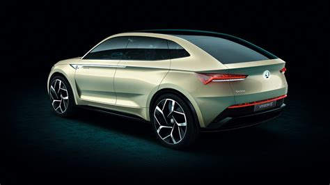 Updated Skoda Vision E Concept Makes Emobility Simply Clever