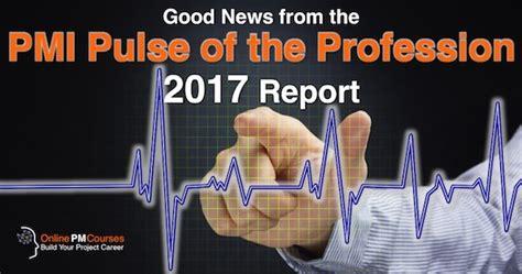 good news   pmi pulse   profession  report