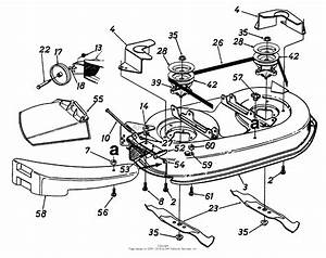 Mtd 13as695g118  1997  Parts Diagram For Deck Assembly 42 Inch