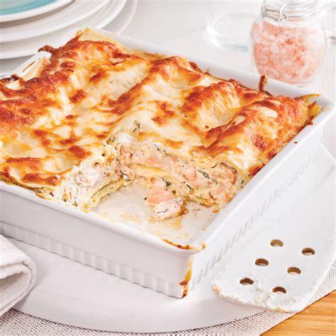 cuisine lasagne facile lasagne au saumon facile à faire recettes cuisine et