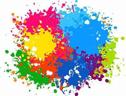 Splash Paint Transparent Vector Background Clipart Graphic