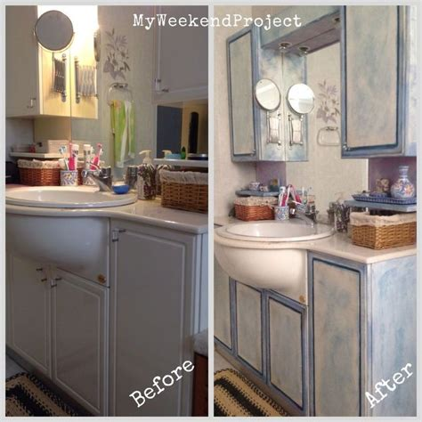 painted bathroom cabinets before and after bathroom cabinets makeover with chalk paint hometalk