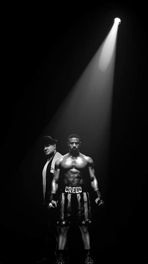 Creed II (2018) Phone Wallpaper in 2020 | Rocky balboa