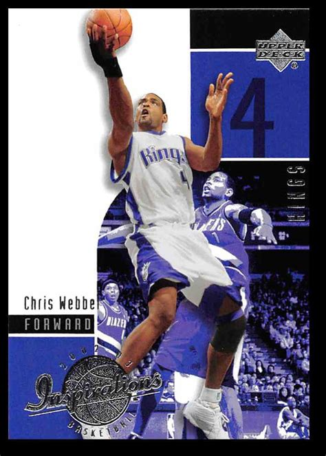 Maybe you would like to learn more about one of these? 2002-03 Upper Deck Inspirations Chris Webber #71 on Kronozio