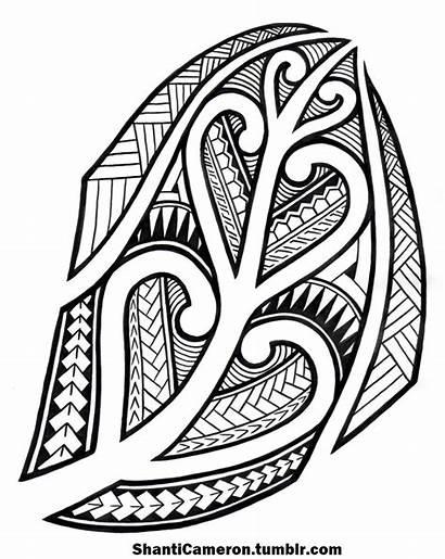 Tribal Samoan Drawing Maori Inspired Getdrawings