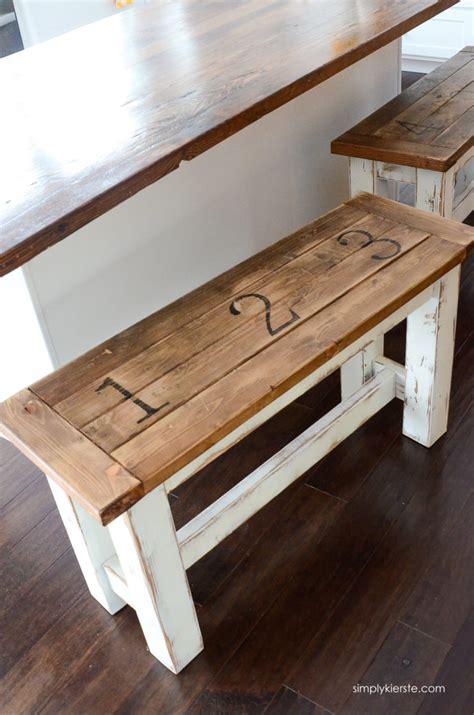 Ana White  Kitchen Benches Featuring Simply Kierste