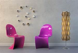 Stuhl Panton Chair : panton chair wohnung ~ Markanthonyermac.com Haus und Dekorationen