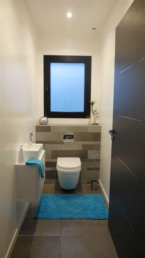 wc du bas eclairage led idee toilettes decoration