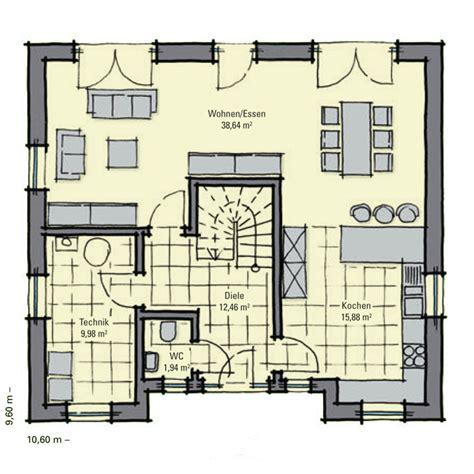 Grundriss Mit Treppe In Der Mitte by Stadthaus Holmen Zwei Vollgeschosse Stadtvilla