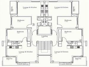4 bedroom floor plan simple 4 bedroom house plans that are for Simple house plan with 4 bedrooms