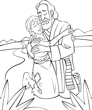 preschool coloring pages the prodigal 892   Prodigalsm