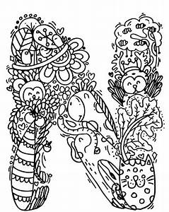 Alphabet Quot N Quot Doodle Art Elephant Bell Drawings