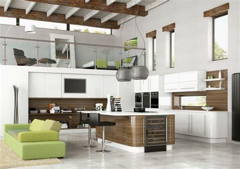 Divano Verde Mela 1001 Idee Per Cucina Open Space Dove Funzionalit 224 E