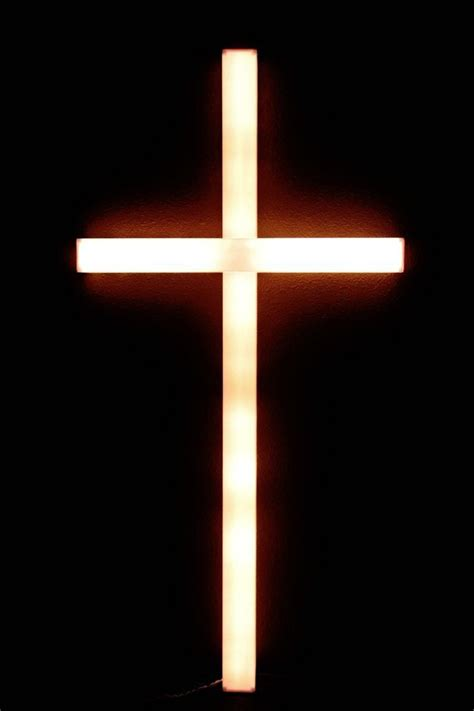 easter lighted cross decor large  outdoor lights