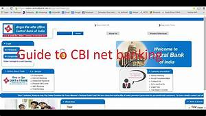 Central Bank Of India Internet Banking Guide To Login To