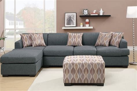 Corner Grey L Shaped Couch Decoration Idea   ALL ABOUT