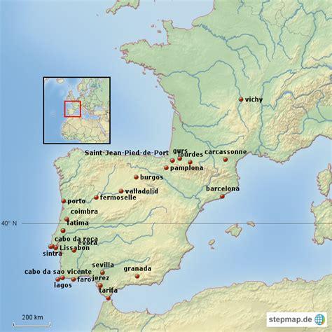 karte frankreich spanien portugal filmgroephetaccent