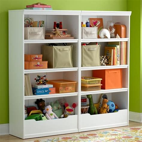 Childrens White Bookcase by Bookcases White Flat Top With Adjustable