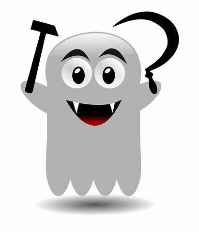 Ghost Clipart Clip Spectre Communism Hantu Character