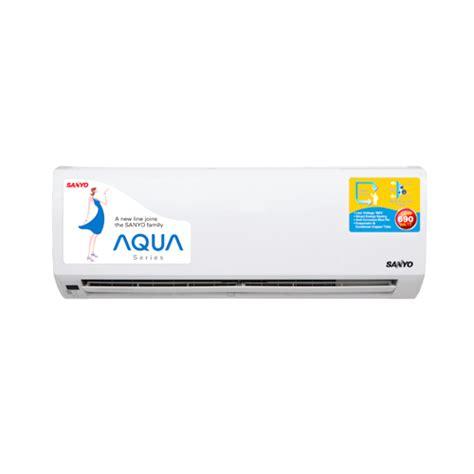 Ac Aqua 1 2pk Low Watt jual sanyo ac aqua low watt wall mounted split 1 pk sap