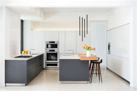 gray kitchen with white cabinets 30 gorgeous grey and white kitchens that get their mix right 6909