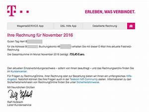 Telekom Rechnung Einsehen : mobilfunk rechnungonline ~ Themetempest.com Abrechnung