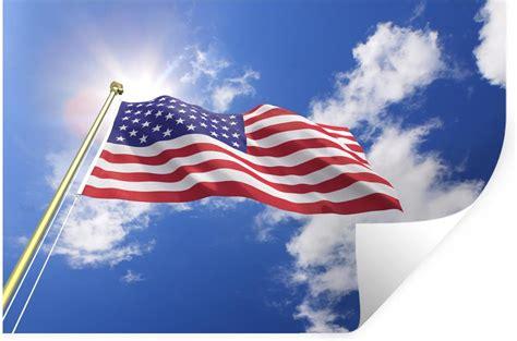 bol muursticker vlag verenigde staten