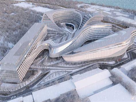 Zaha Hadid's Beko Building In Belgrade  Business Insider