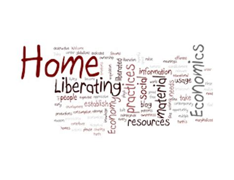 Liberating Home Economics: My Home Ec Definition in Wordle
