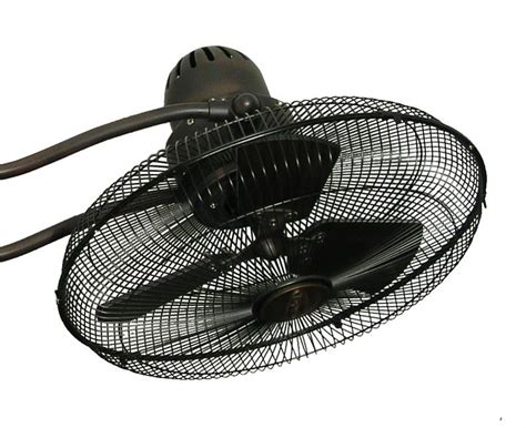 dual motor oscillating ceiling fan troposair 15 inch duet oscillating dual motor ceiling fan