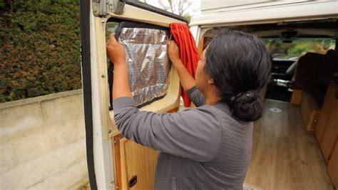 faire des rideaux isolants pour le van tutoriel