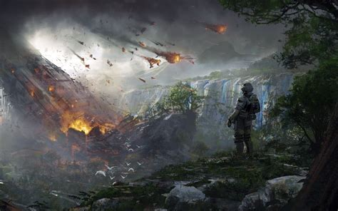 Desktop Wallpaper 2 by Wallpaper Titanfall 2 Soldier Concept