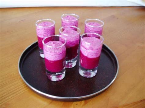 recette verrines de betteraves bicolores
